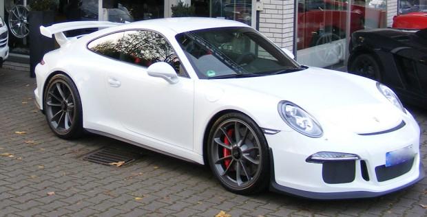 Porsche GT3 weiß